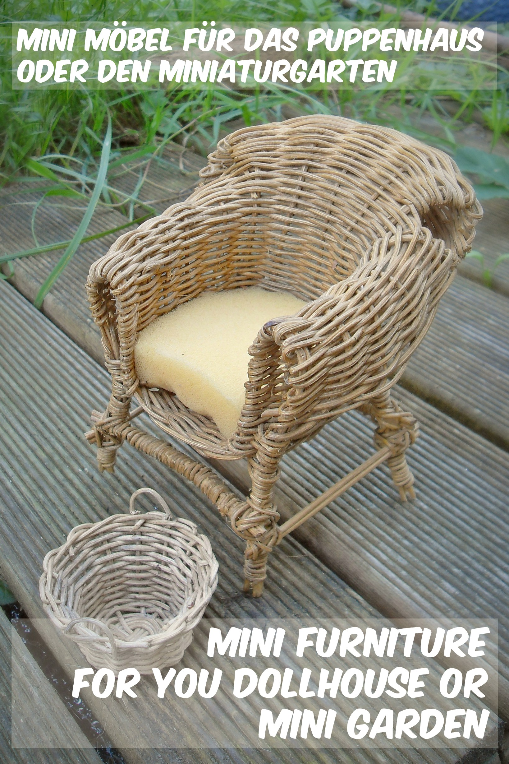 mini garden chair