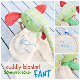 custom pattern baby toy elephant