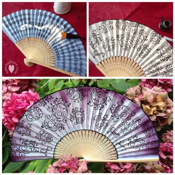 fan pimped with gesso