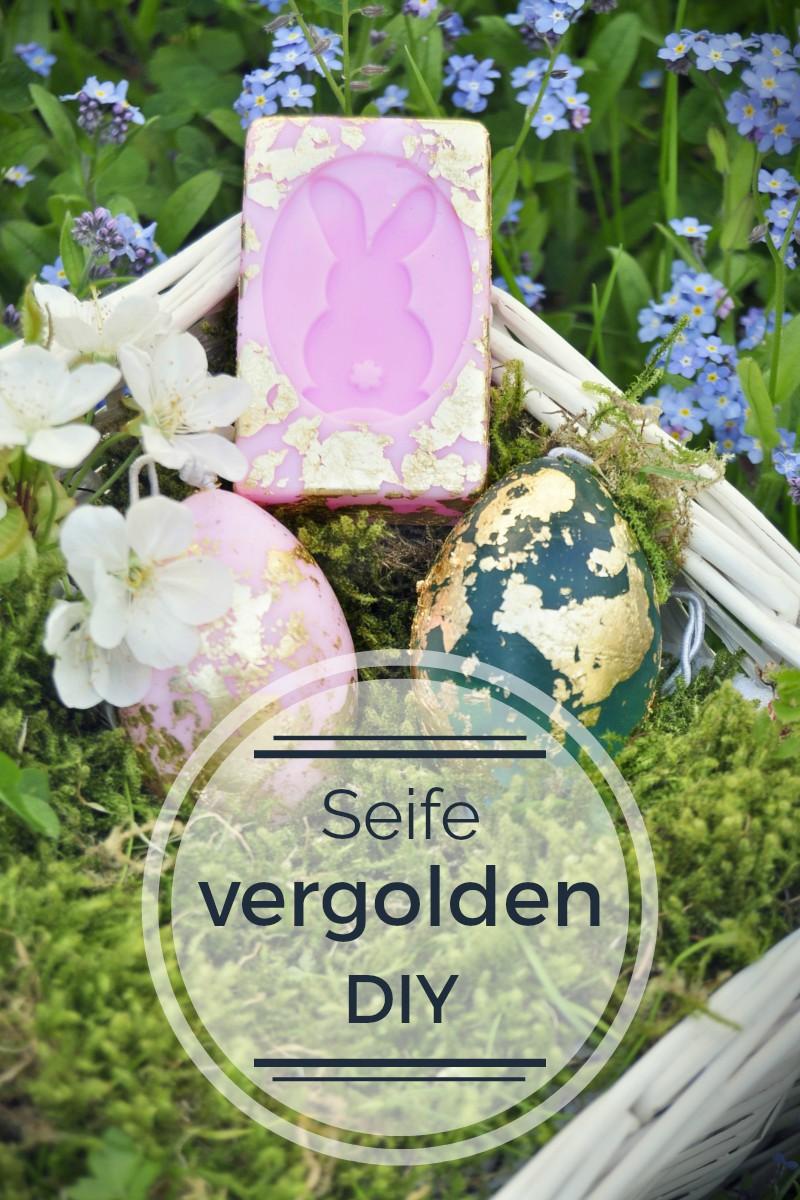 goldene Seife