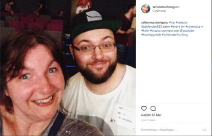 Defender833 und Bärbel Born auf Youtube Event Creators Connect