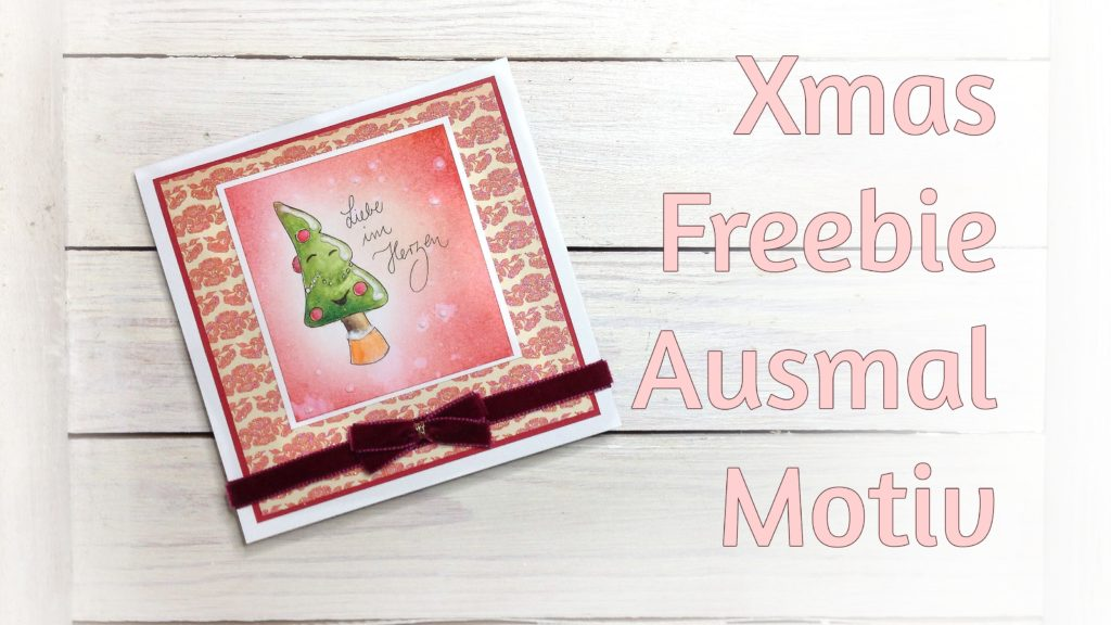 Digistamp freebie Weihnachtsbaum
