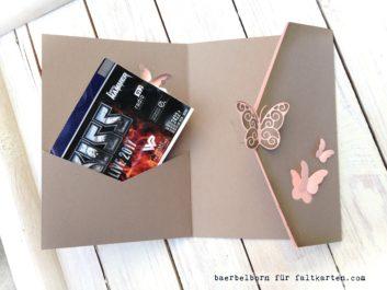 Pocketfold Grußkarte
